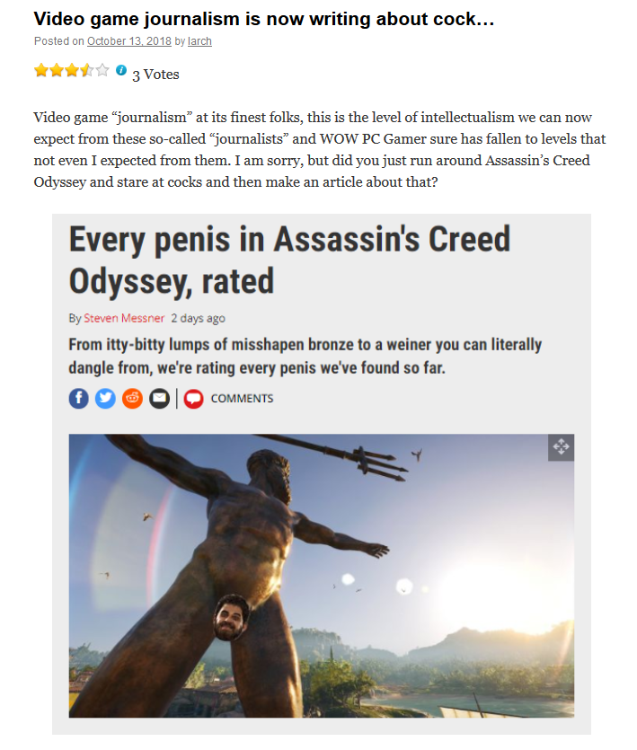 Screenshot_2018-10-13 Video game journalism is now writing about cock…