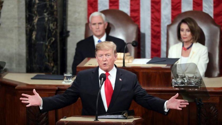 Trump-grandstanding